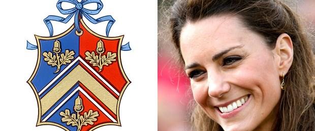 Kate Middleton için 'aile arması'
