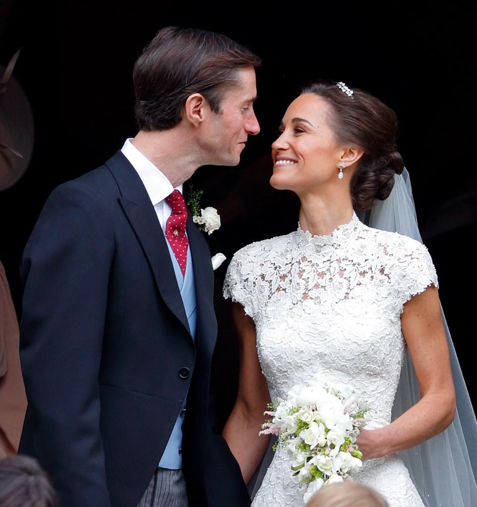 Pippa Middleton, düğün, James Matthews