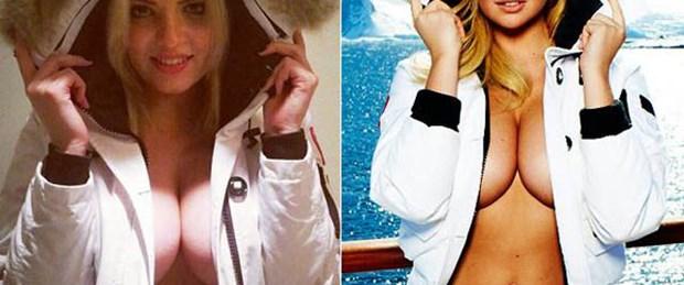 Kate Upton'ın ikizi Rusya'dan çıktı