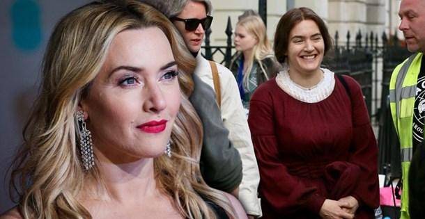 Kate Winslet Yeni Rolü Için Tanınmaz Halde Rolleri Uğruna Değişen