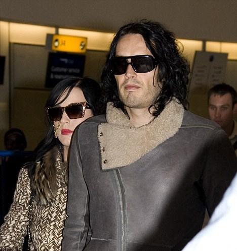 Katy Perry ve nişanlısı Russell Brand
