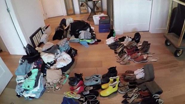 Kendall Jenner yer bulamadığı giysilerini atmak zorunda kaldığını açıkladı.