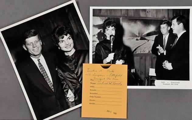 Kennedy'nin 50 yıldır kayıp eşyaları bulundu