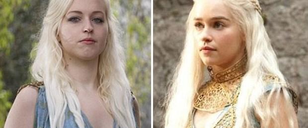 Khaleesi'ye benzemenin bedeli 2 bin 500 sterlin