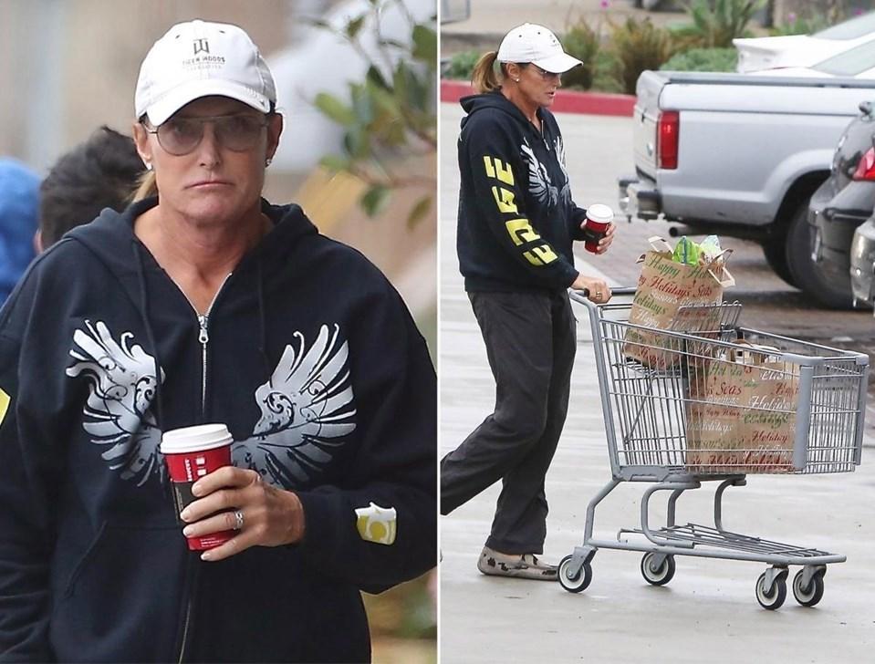 Bruce Jenner geçtiğimiz haftalardapaparazzilere böyle yakalanmıştı.