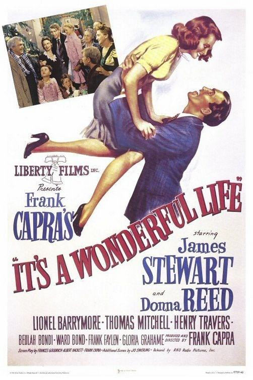 it's a wonderful life, en iyi filmler, en iyi aşk filmleri, mutluluk veren filmler, kendinizi iyi hissettiren filmler, mutlu filmler
