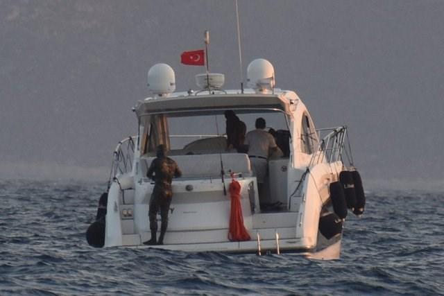 Kıvanç Tatlıtuğ, Çağatay Ulusoy, sahil güvenlik, baskın, batık bölgesi