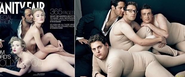 Kıvrım farkıyla Vanity Fair çıplakları!