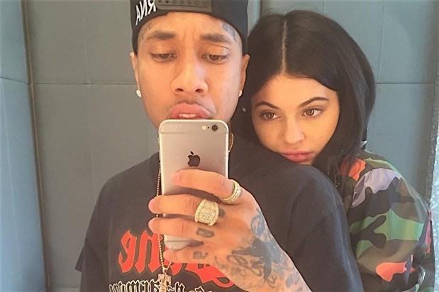 Kylie Jenner ile eski sevgilisiTyga.