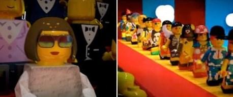 Lego adamlar defileye çıktı