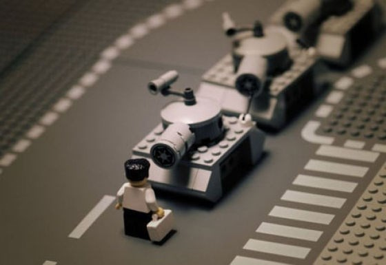 Lego'yla anlatılan tarih