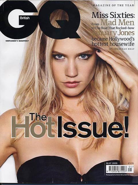 MadMen'in yıldızı GQ'nun kapağında