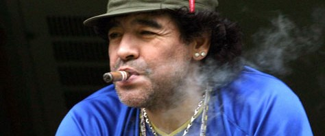 Maradona mescit yaptırıyor