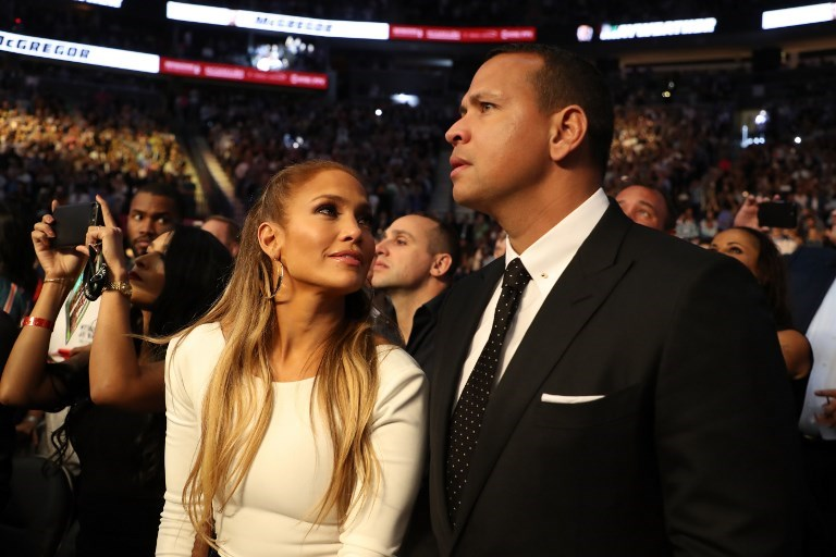 JENNIFER LOPEZ VE ALEX RODRIGUEZ