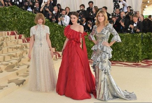 Met Gala 2018, Met Gala, Moda, Rihanna, Bella Hadid, Hailey Baldwin, Kate Moss, Olvia Munn, Vogue, ABD