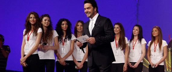 Miss Turkey güzelleri Beyaz Show'daydı