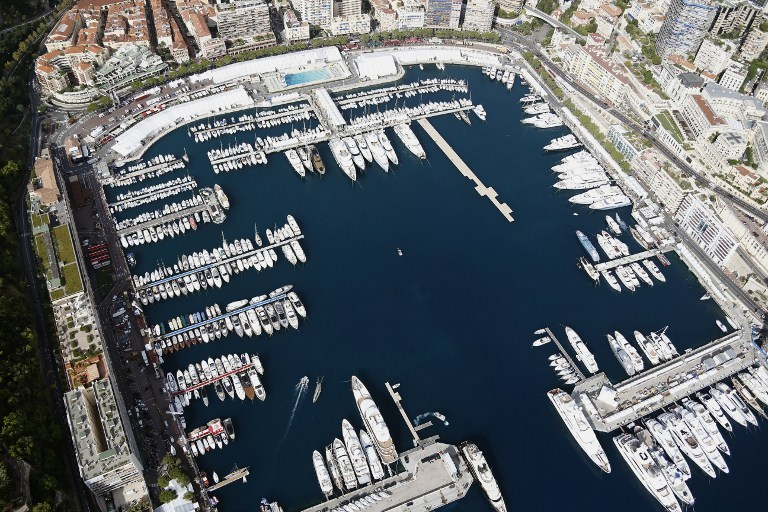 Monaco'ya kuşbakışı