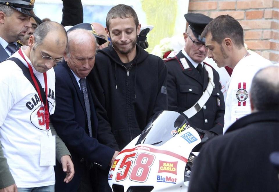 Moto GP pilotu uğurlandı