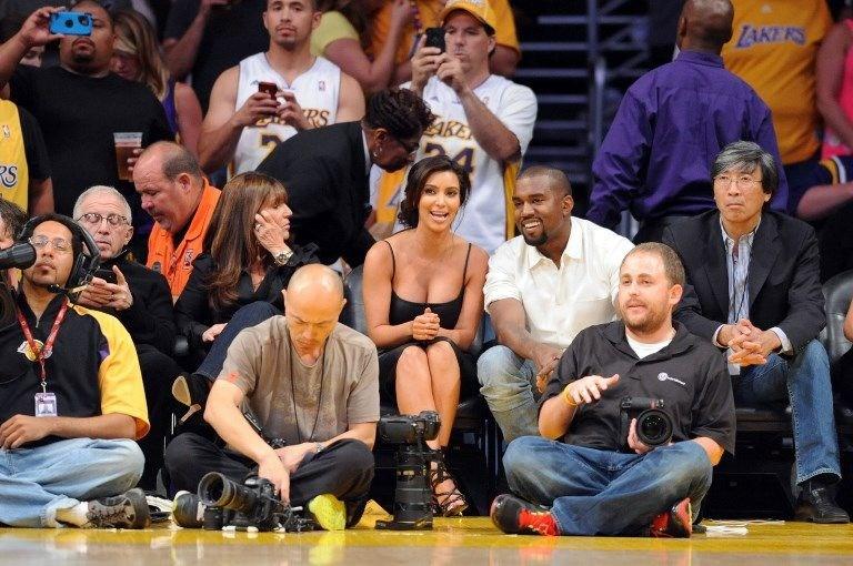 NBA maçına damga vuran ünlü isimler - 1 | NTV