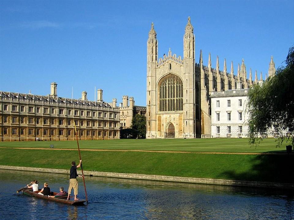 Newton'a ilham veren şehir: Cambridge