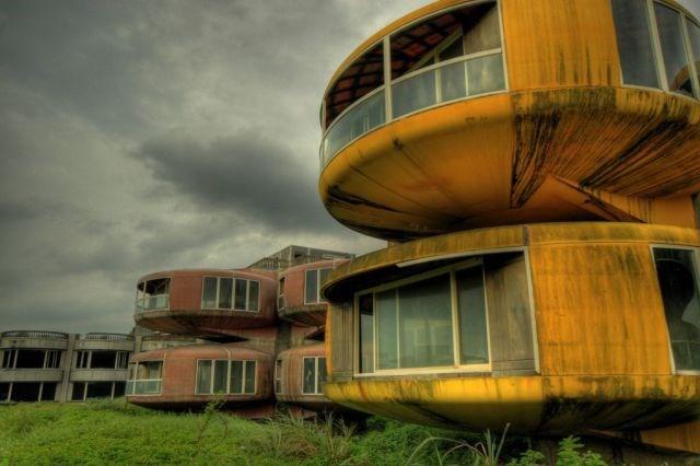 Sanzhi UFO evleri, San Zhi, Tayvan
