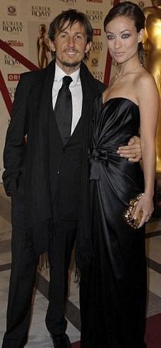 Olivia Wilde ve Tao Ruspoli Altın Küre ödüllerinde