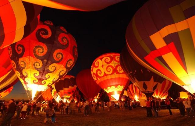 Albuquerque Uluslararası Balon Festivali - ABD