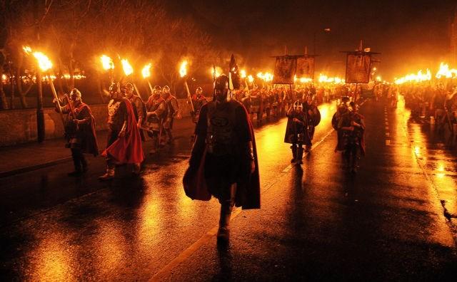 Ateş Festivali - İskoçya