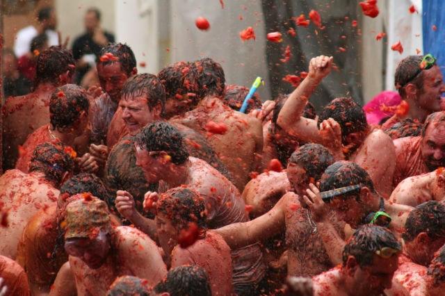 Domates Festivali - İspanya