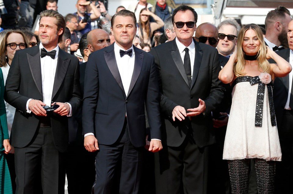 Once Upon A Time in Hollywood, Margot Robbie, Brad Pitt, Leonardo Di Caprio, Tarantino, Sinema, Cannes