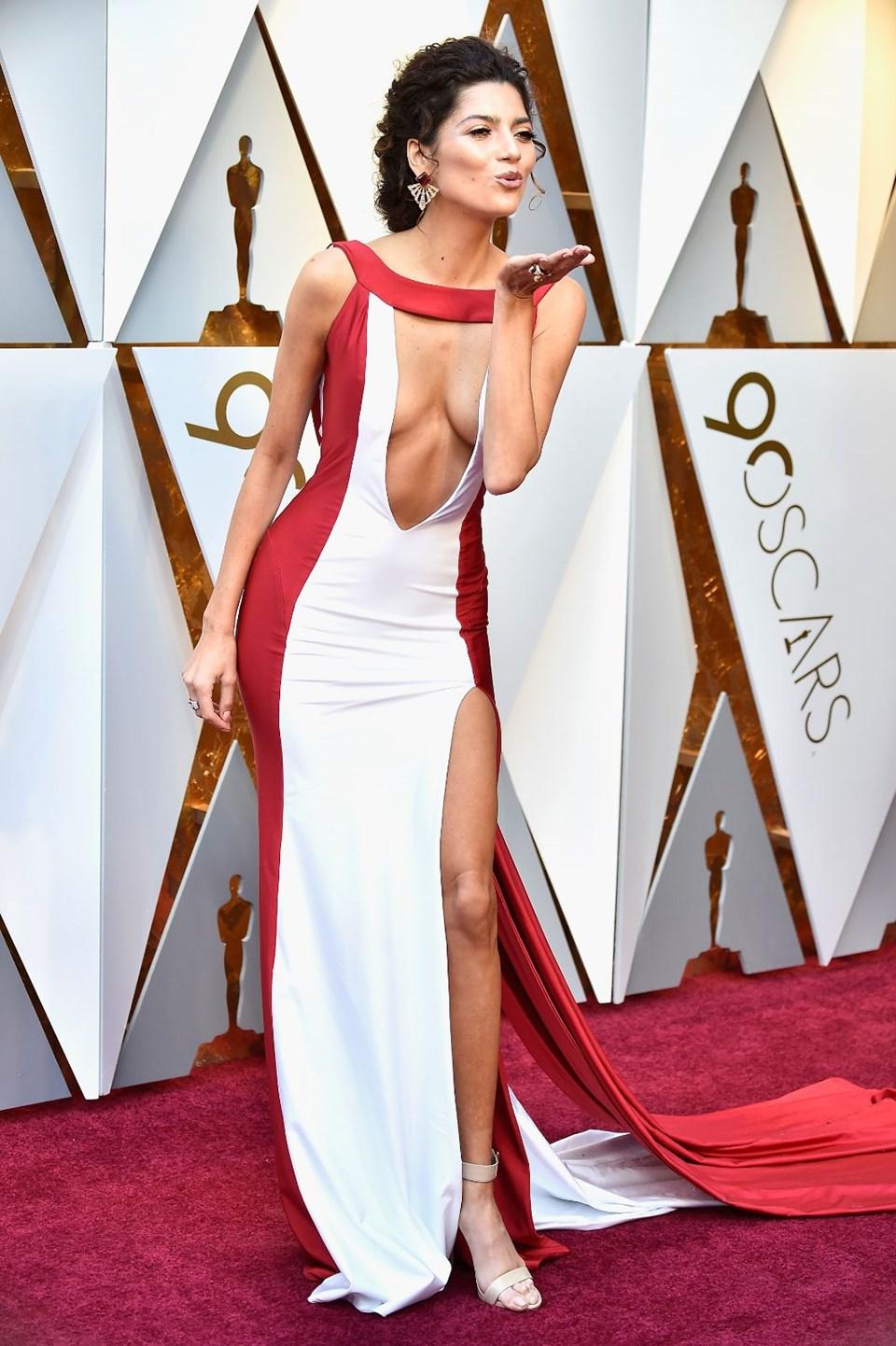 Oscar kırmızı halı görünümleri, Oscar modası, Oscar stili, kırmızı halı, Oscar kırmızı halı