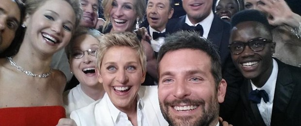 Oscar'da Twitter rekoru