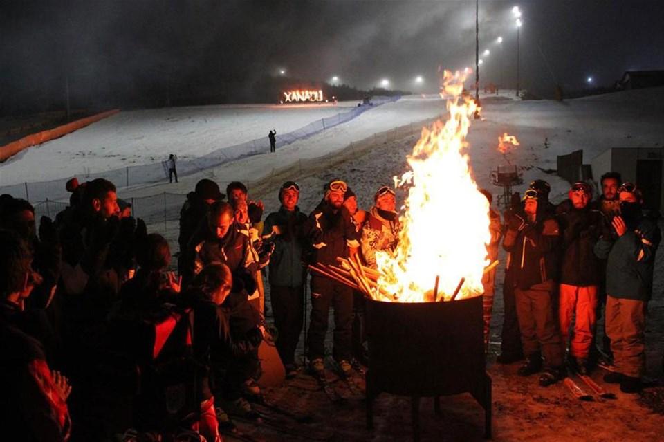 Palandöken'de sezon açıldı