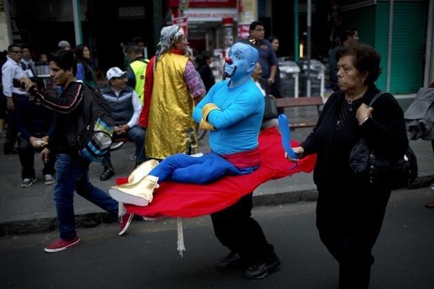 Peru'da palyaço günü 2006 yılından bu yana kutlanıyor.