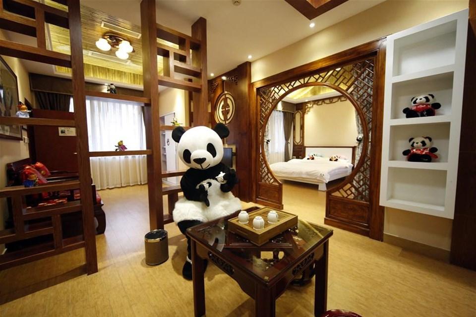 Panda Otel kapılarını açtı