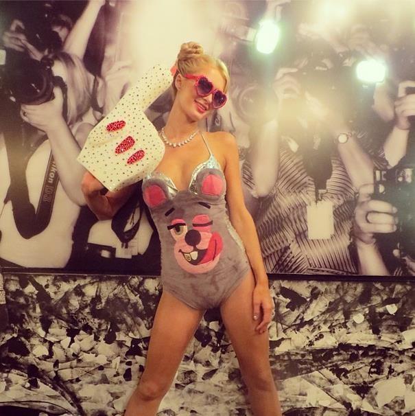 Paris Hilton Miley olursa
