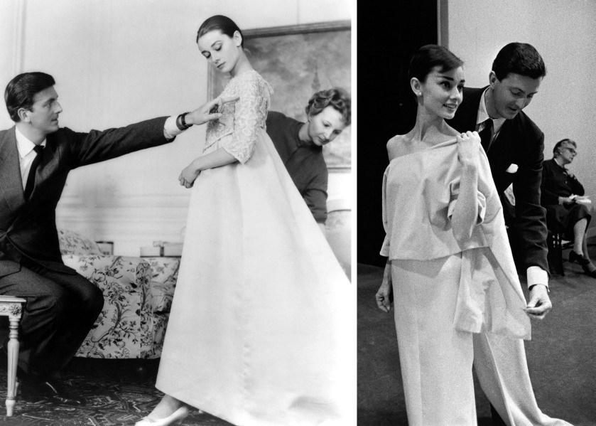 Hubert De Givenchy , Audrey Hepburn ve Jackie Kennedy gibi isimleri de giydirmişti.
