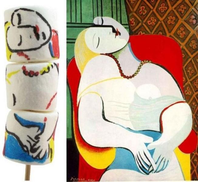 Picasso tabağınızda
