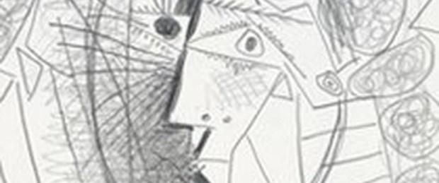 Picasso'yu çaldı, taksiyle kaçtı