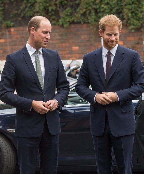 Prens William Ve Harry'den Anneleri Diana'ya özel Heykel