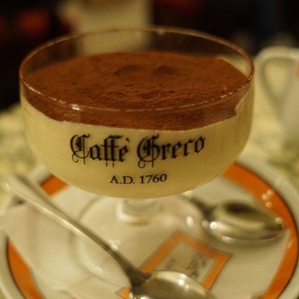 CAFFE GRECO'DA TİRAMİSU