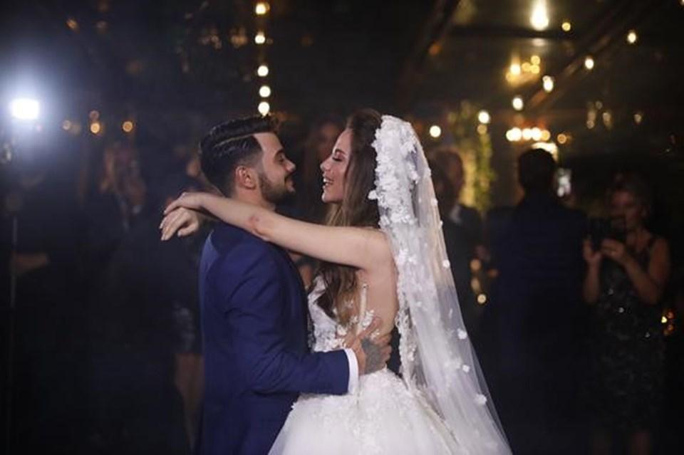 Şubat ayında nişanlanan çift, iki hafta önce Sarıyer Bahçeköy'de düzenlenen nihah töreniyle hayatlarını birleştirdi.