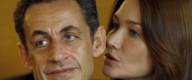Sarkozy'den Carla'ya: Bir rahat dur