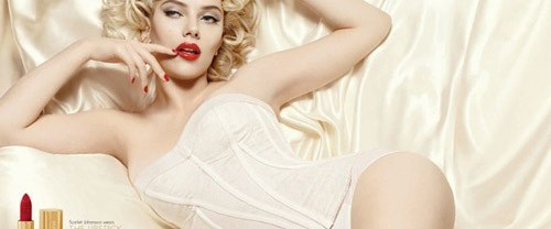 Scarlett Johansson D&G güzelliğinde