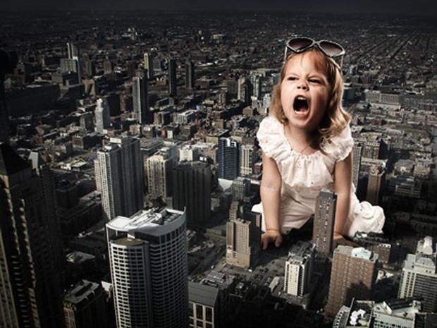Çocuklar şehri basarsa...
