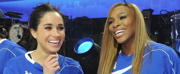 Serena Williams ile Meghan Markle'ın dayanışması