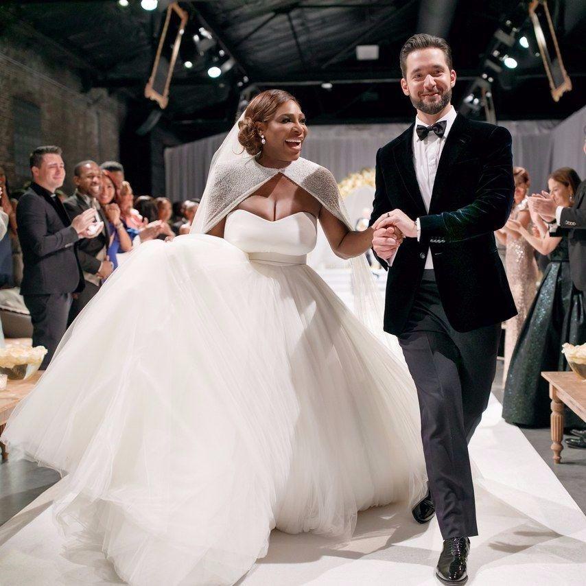 Serena Williams, Alexis Ohania ile evlendi