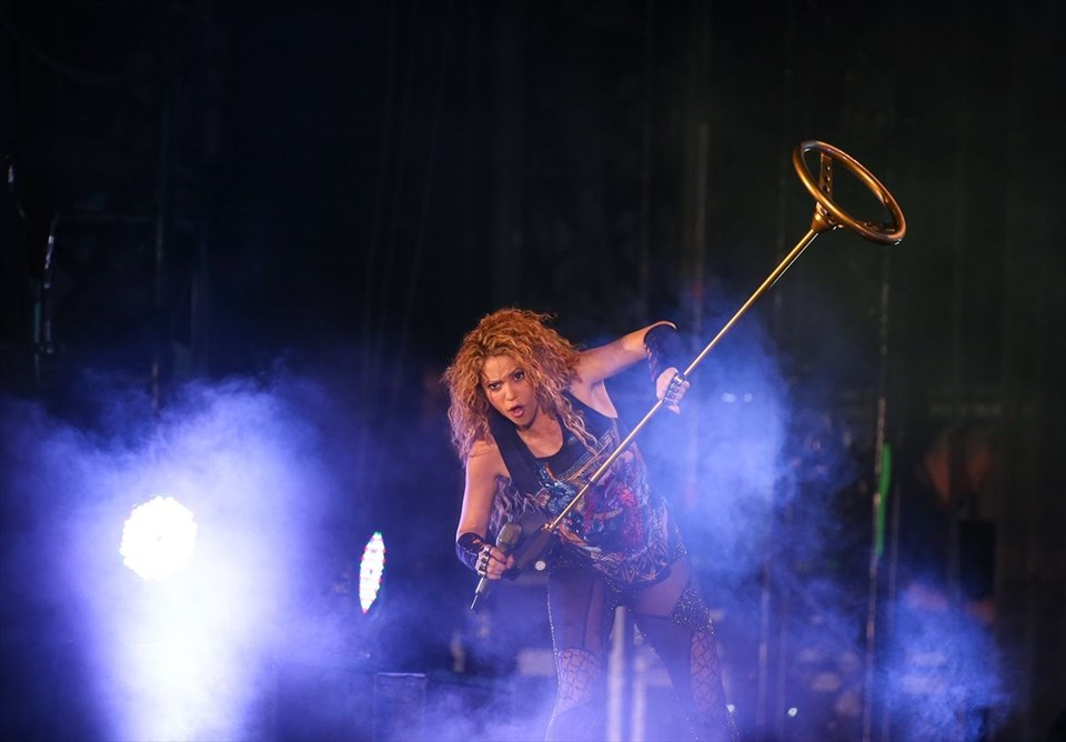 Shakira, İstanbul, El Dorado Dünya Turnesi, Vodafone Park