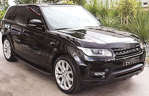 Sezen Aksu'nun oğlu için aldığı Range Rover Sport.