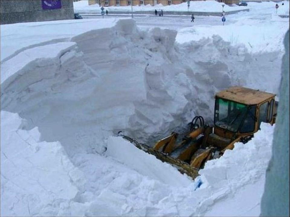 Sibirya'nın kışı başkadır